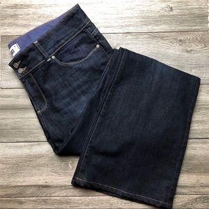 Paige Hidden Hills dark wash flare jeans